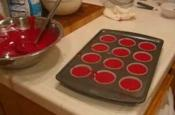Red Cup Cakes With Wonderful Frosting - Part 1 Ingredient & Measurement