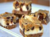 Cookie Dough Cheesecake Bars With Pecan Crust 