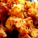 Spicy Onion Fritters