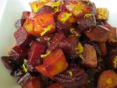 Orange Roasted Beets And Potatoes