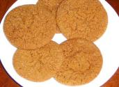 Orange Ginger Cookies