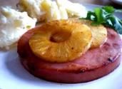 Orange Glazed Ham &#039;n Pineapple