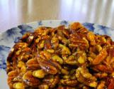 Microwave Spicy Sugared Nuts