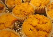 Home Baked Orange And Pumpkin Muffins