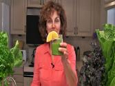 Orange Basil Mint Green Smoothie