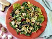 Grilled Mushroom Oriental Salad