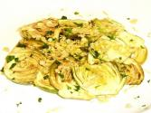 Oven Roasted Artichoke Slivers With Thyme And Marjoram