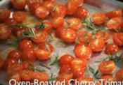 Tasty Oven Roasted Cherry Tomatoes