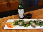 Oyster Rockefeller Paired With Marques De Riscal Rioja