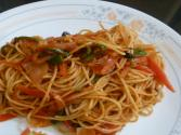 Quick Vegetable Spaghetti