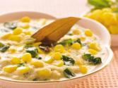 Palak Methi And Corn Subzi (pregnancy And Calcium & Iron Rich) By Tarla Dalal