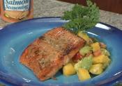 Salmon With Mango And Avocado Relish