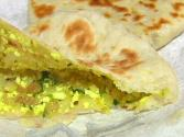 Paneer Kulcha - Indian Stuffed Bread