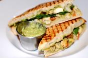 Low-fat Chicken And Pesto Panini