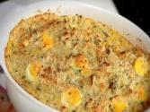 Vegetarian Pasta, Potato, Artichoke And Pea Casserole  