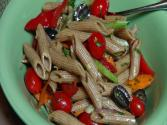 Pasta Salad With Balsamic Vinaigrette - Vegan