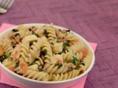 Pasta Salad With Basil Vinaigrette By Tarla Dalal