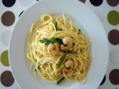 Pasta With Shrimp And Asparagus