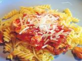 Pasta With Swordfish, Fennel And Tomatoes