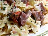 Creamy Pasta, Sausage And Tomato Skillet Meal: Easy Weekday Dinner Idea