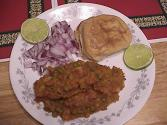 Spicy Pav Bhaji