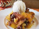 Harvest Peach-berry Cobbler