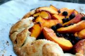 Peach And Blueberry Galette