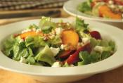 Peach And Escarole Summer Salad