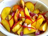 Peach Lime And Chili Salad