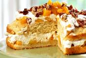 Brown Sugar Pecan Peach Shortcake