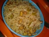 Peanut And Capsicum Pulao