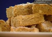 Delicious White Chocolate And Peanut Butter Blondies