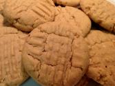Organic Peanut Butter Cookies