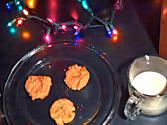 Christmas Gluten Free Peanut Butter Cookies
