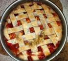 Pear Cranberry Pie