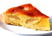 Homemade Pear Flan