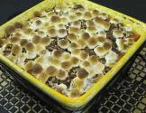 Pecan And Marshmallow Topped Sweet Potato Casserole