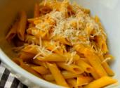 Penne Pasta With Golden Cherry Tomato Sauce