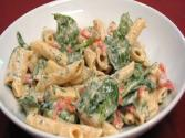 Lynn's Smoked Mozzarella And Penne Spinach Salad