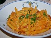 Penne With Mushrooms And Chicken