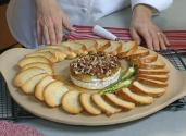 Tangy Pepper Pecan Brie
