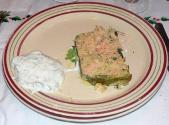 Peppered Grits Terrine