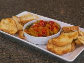 Grilled And Marinated Sweet Pepper Relish
