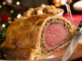 Beef Wellington With Mushroom Duxelle And Compote