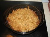 Mincemeat Apple Crisp