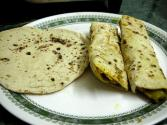 Tofu Chapatis