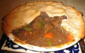 Meat Pie With Biscuits