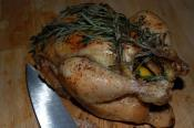 Rosemary Roasted Chicken With Carrots