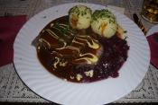 Quick Sauerbraten Steaks