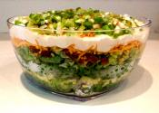 Seven 7 Layer Salad